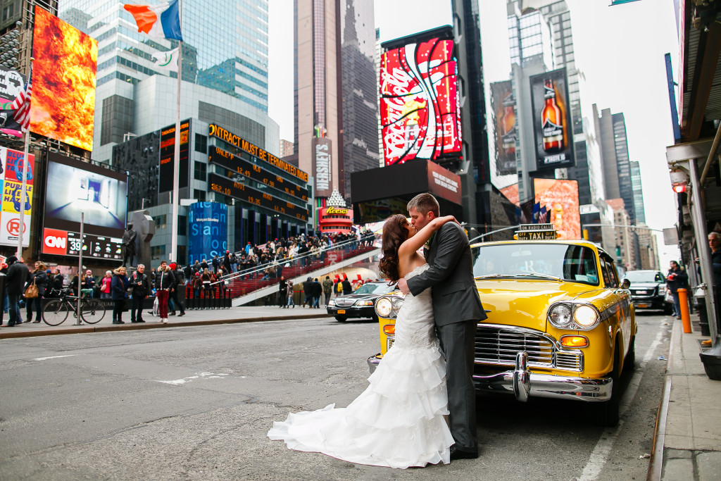 times square wedding