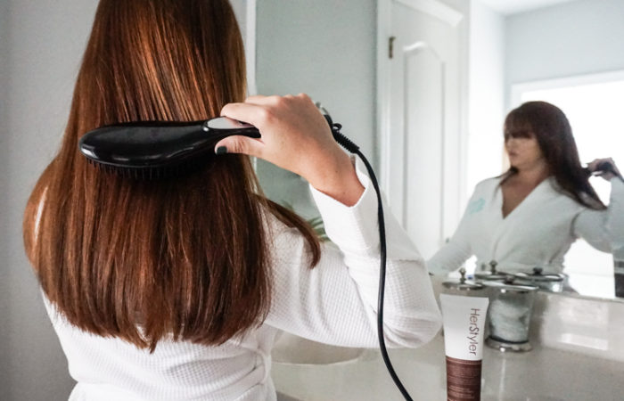 How to get Smooth Straight Hair Without Losing Volume with HerStyler