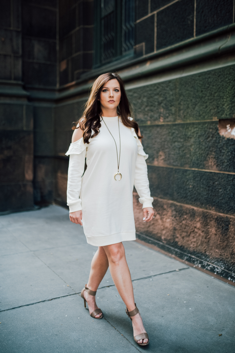 white dress work wear, summer outfit tantouring